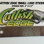 Catfish Edge Logo Sticker Small