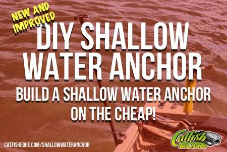 DIY Shallow Water Anchor