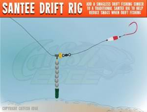 Santee Drift Rig For Catfish