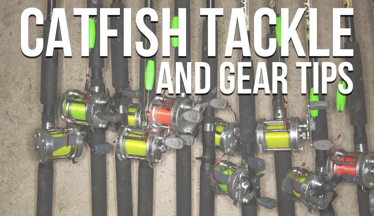 Catfishing tips the ultimate list of catfishing tips for Catfish fishing gear