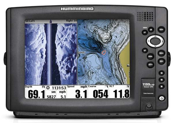 Humminbird Sonar Fishfinder Catfish