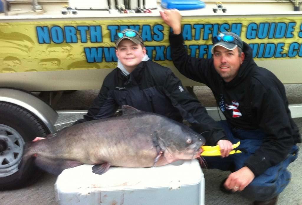 Texas State Record Catfish Caught Drift Fishing