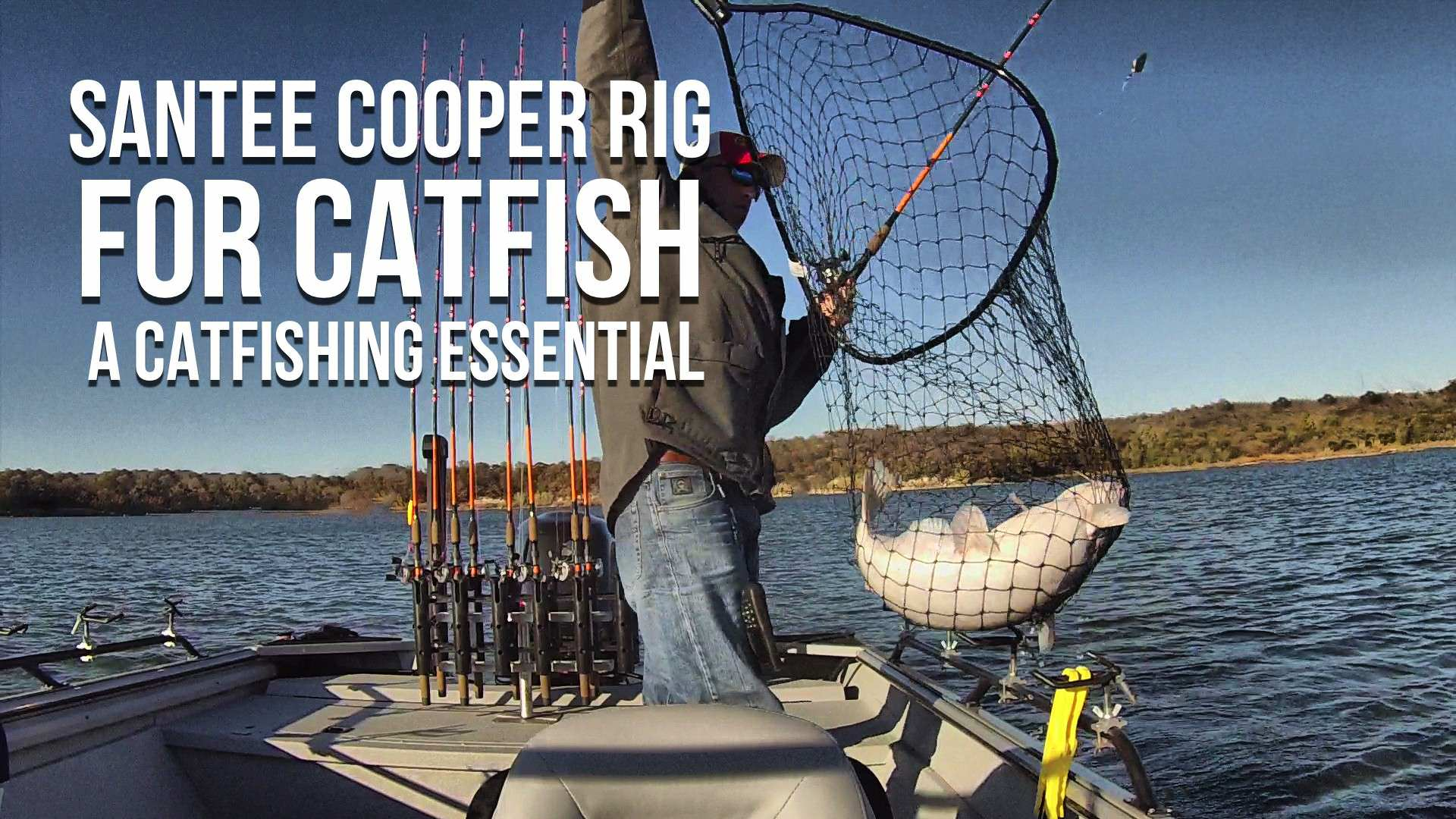 Santee cooper rig for catfish a catfishing essential for Best catfish rig for bank fishing