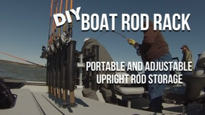 DIY Vertical Fishing Rod Rack 450