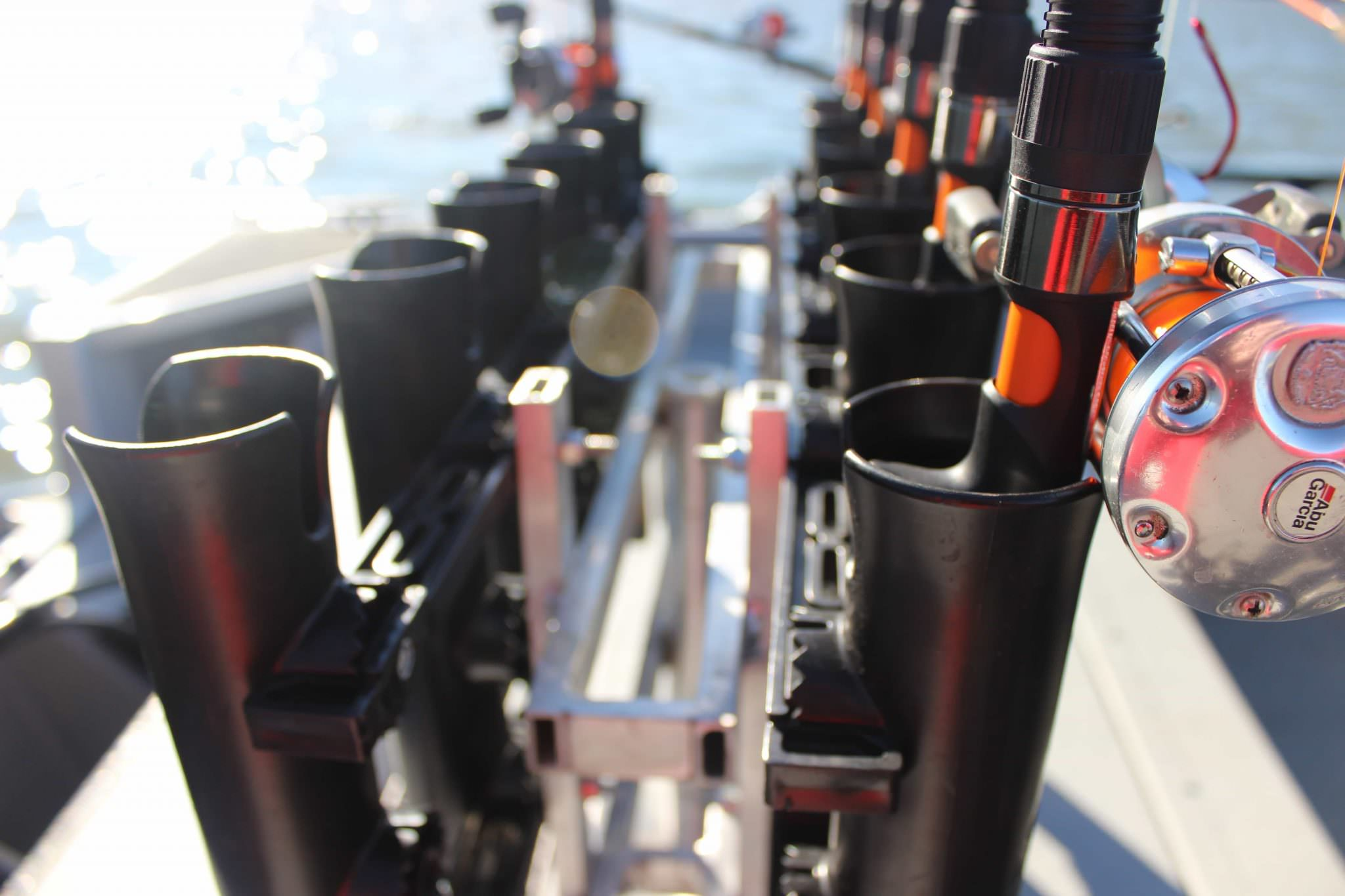Vertical Fishing Rod Rack For Boats Diy Simple Portable