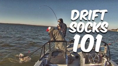 Drift Sock 101: Gear Up, Boat Control For Drift Fishing Catfish