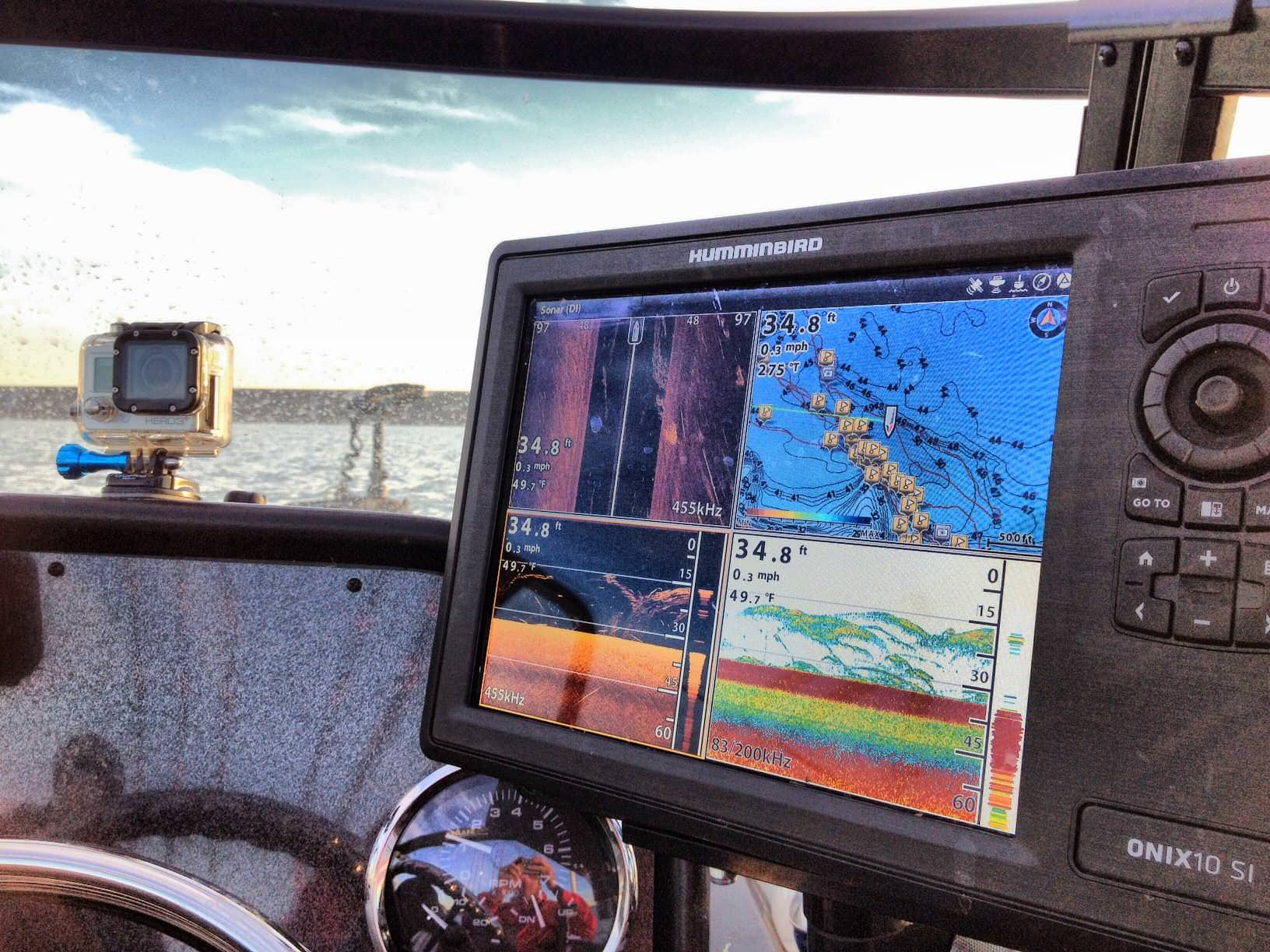 5 fishfinder installation tips for success and catching more catfish 3 power importance and interference fish finder catfish