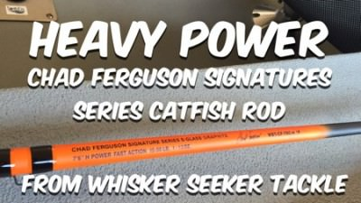 [New] Heavy Power Chad Ferguson Signature Series Catfish Rod