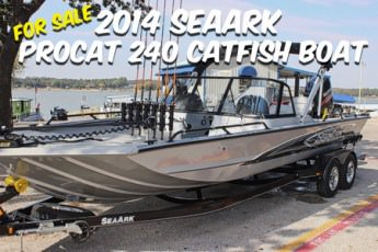 For Sale 2014 SeaArk ProCat 240 450