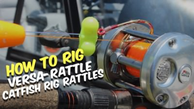 Catfish Versa-Rattles Add Noise To Any Catfish Rig