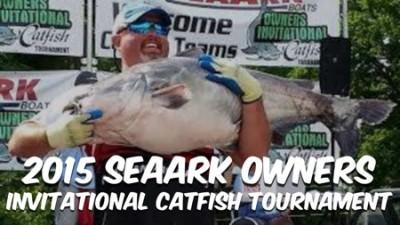 2015 SeaArk Owners Invitational Catfish Tournament