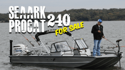(SOLD) 2016 SeaArk ProCat 240 For Sale [Fully Loaded]