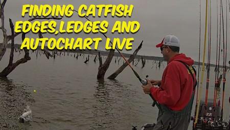 Finding Blue Catfish With Humminbird AutoChart Live