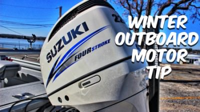 Avoid Repairs (Plus Fishing Delays ) With This Winter Outboard Tip