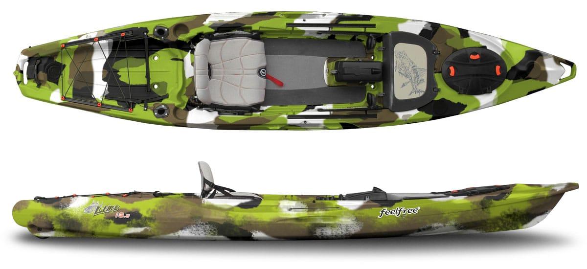 Feelfree lure 13 5 kayak and kayak catfishing rig my yak for Catfish fishing gear