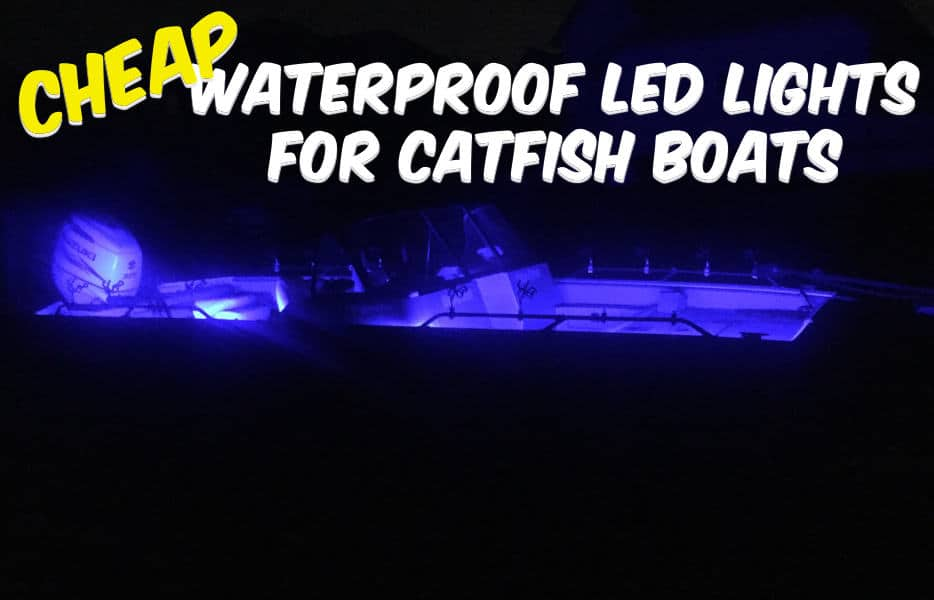 Waterproof LED Lights Catfish Boat