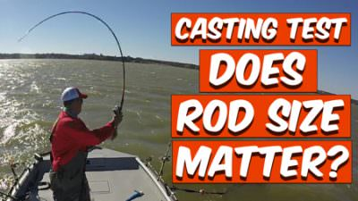 "Casting Test: Does Rod Size Matter? (7""6″ Vs' 9'6″ Rod)"