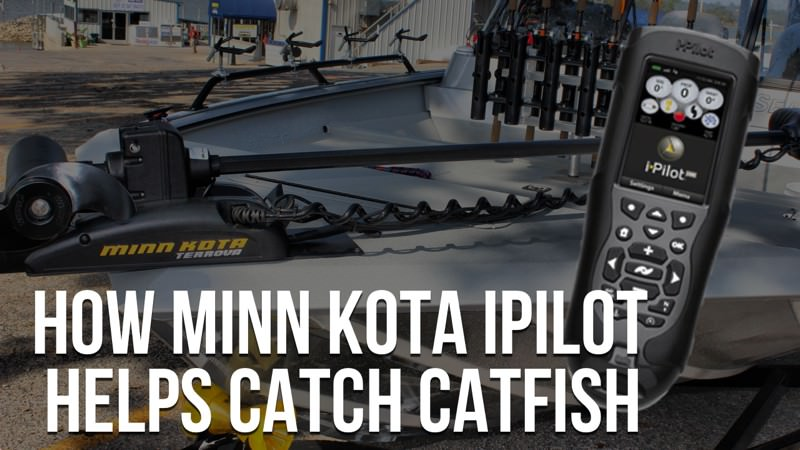 How Minn Kota iPilot Helps Catch Catfish