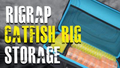 RigRap Catfish Rig Storage