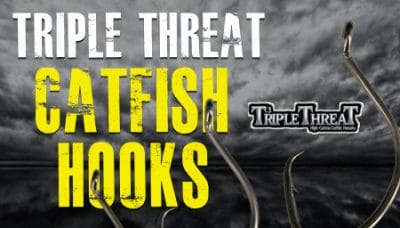 Triple Threat Catfish Hooks from Whisker Seeker Tackle