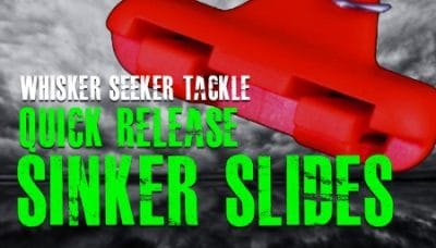 Sinker Slides For Catfish (How To Use Whisker Seeker Sinker Slides)