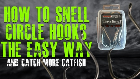 How To Snell A Hook The Easy Way Snell For Triple Threat Hooks