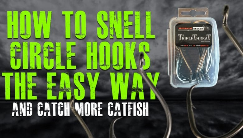 How To Snell Circle Hook