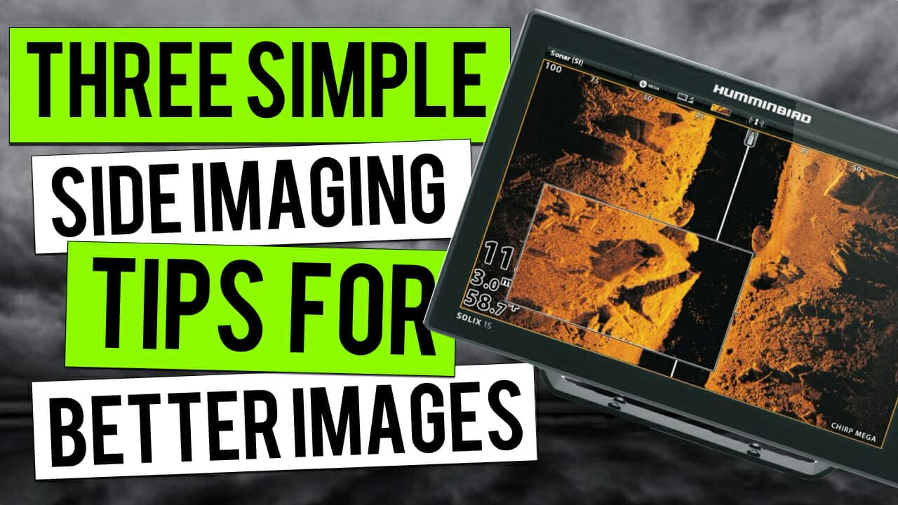 side imaging fish finder tips